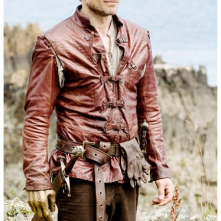 Jaime Lannister Game of Thrones Season5 Leather Jacket