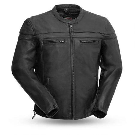 The Maverick Black Motorcycle Leather Jacket