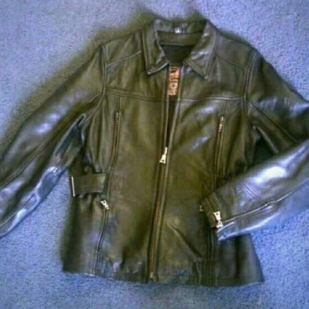Flying Bikes Real Leather Jacket
