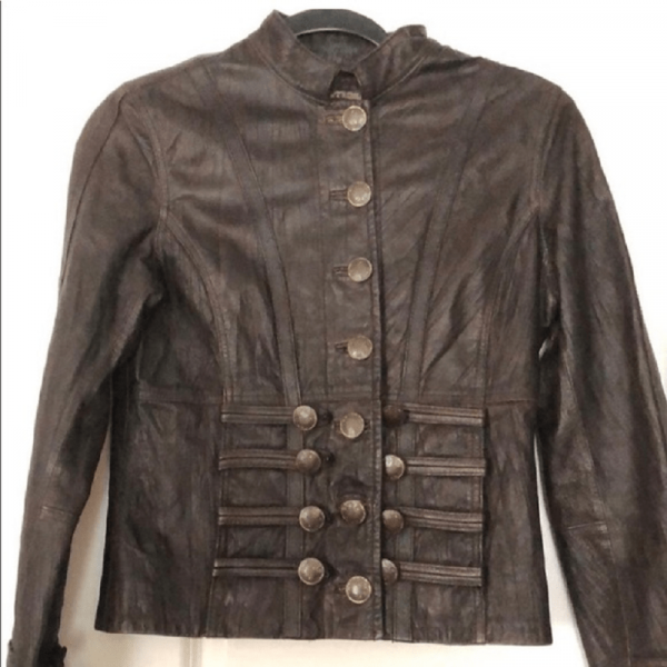 Tribes Leather Jacket
